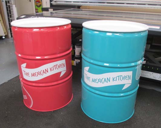 Bespoke Oil Drums